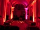 Illuminazione LED chiesa sconsacrata